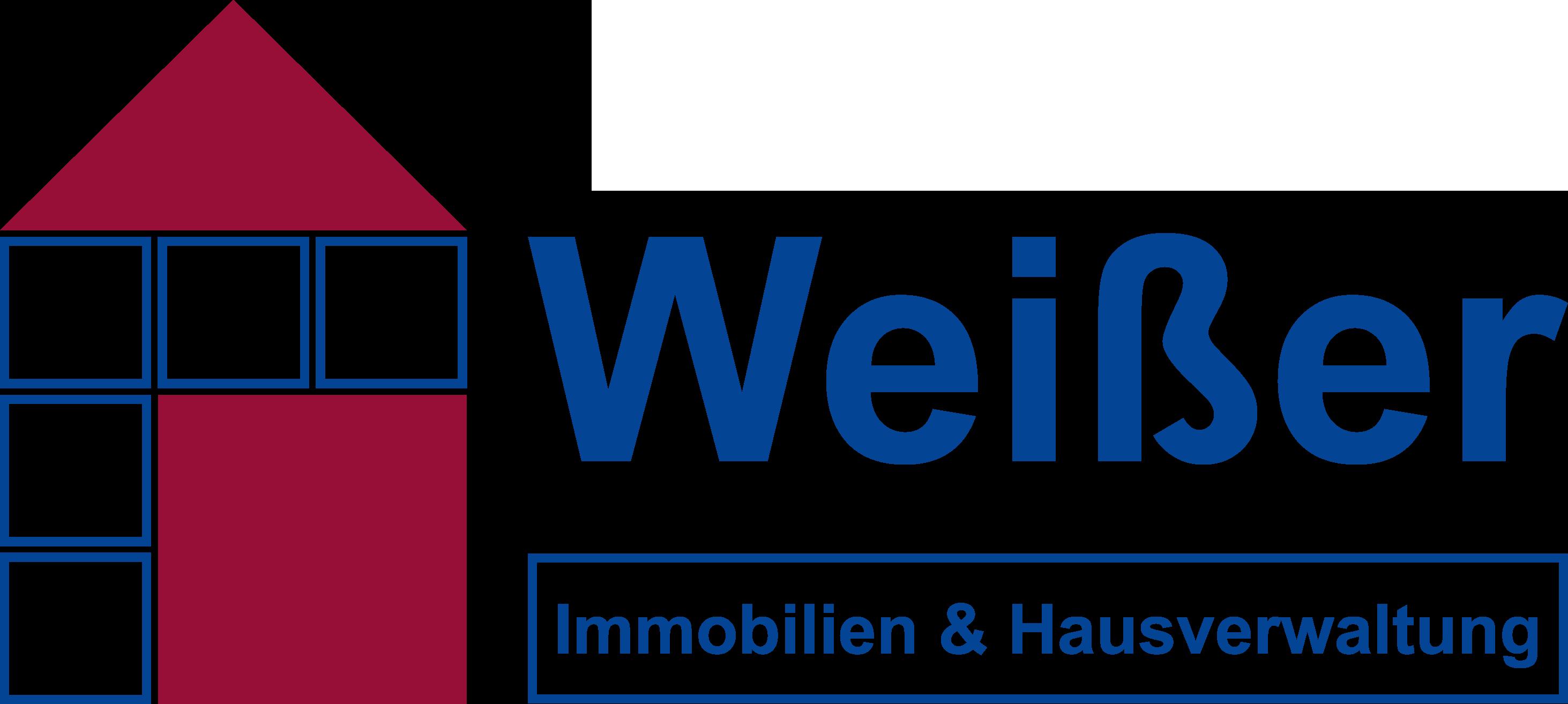 Hausverwaltung Weisser Logo Transparent